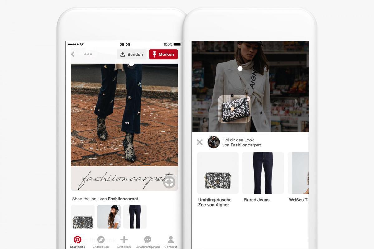 Pinterest startet Shop the Look in Deutschland